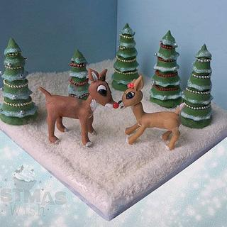 Rudolph & Clarice - Bake a Christmas Wish Collaboration