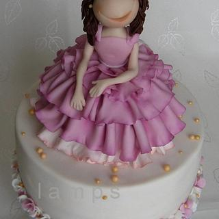 cake for little princes - Cake by lamps