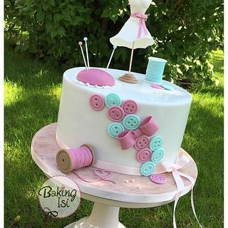 Sewing / stitching cake