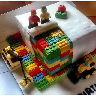 Lego Cake - Cake by TheCookingMonster's Kitchen