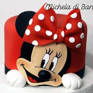 Minnie cake topper  - Cake by Michela di Bari