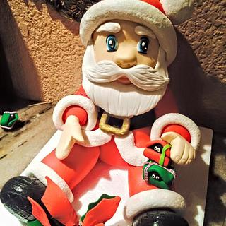 Santa is already in town