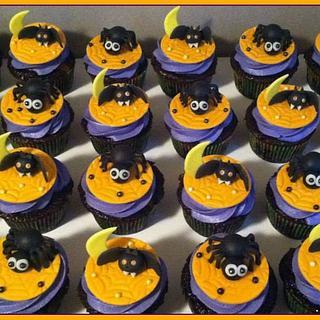 Halloween cupcakes/cake