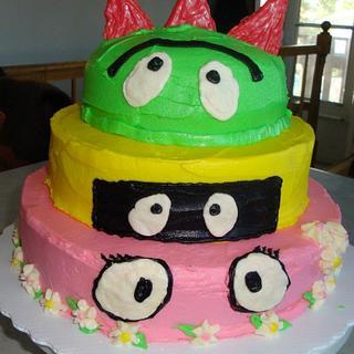 Yo Gabba Gabba - Cake by sweetmema