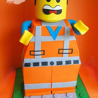 Lego Emmet Cake!