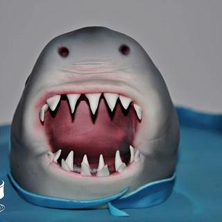 The Shark  - Cake by Alina