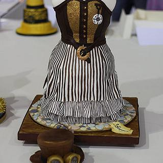 Steampunk Fashion Cake