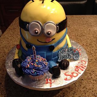 My 2nd Minion Cake