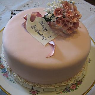 shabby chic cake - Cake by Roberta Romano