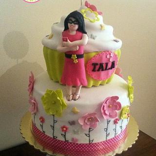 Spring Giant Cupcake