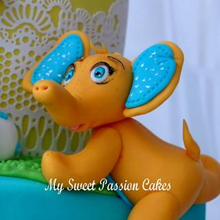Cute cake for 2 years old