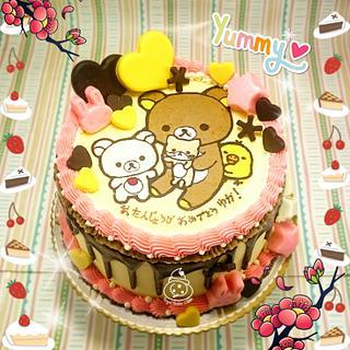 Rilakkuma - Cake by Sugar Snake Cake