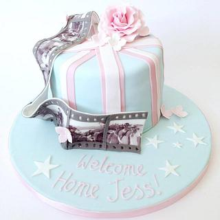 Welcome Home Cake - Cake by Claire Lawrence