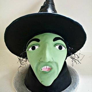 Witch cake sculpture