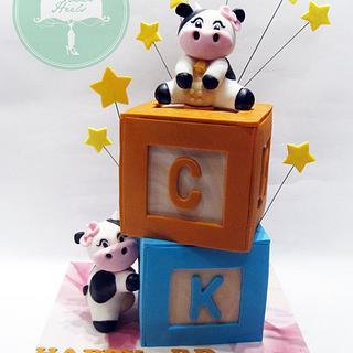 Moo Moo - Cake by Nicholas Ang