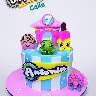 Torta Shopkins Medellín Dulcepastel.com