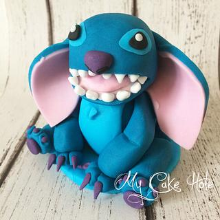 Stitch Cake Topper - Cake by Leigh Medway