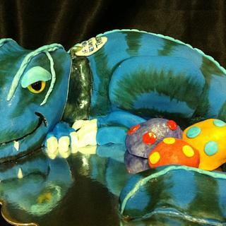 T-Rex Birthday cake  - Cake by cakesbymary