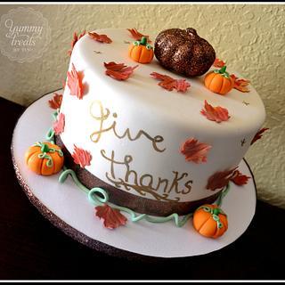 Thanksgiving Cake!