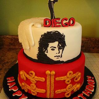 Diego's Michael Jackson Cake - Cake by Jazz