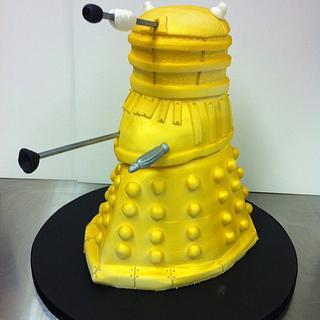 Dr Who Dalek Cake