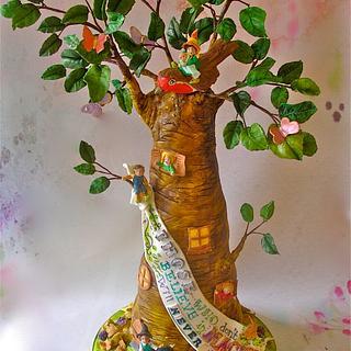 The Minpins - Cake by Lynette Horner