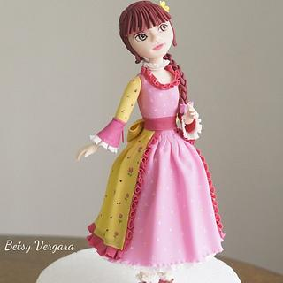 Girl flower dress