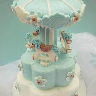 My Carousel cake
