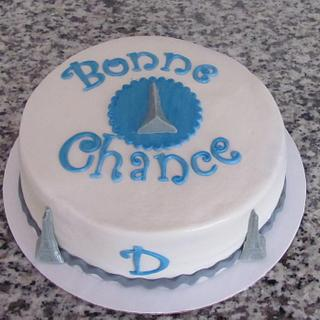 French Good Luck Cake
