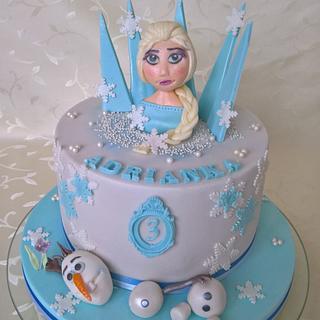 "Frozen ""Elza & Olaf"" - Cake by Tortolandia"