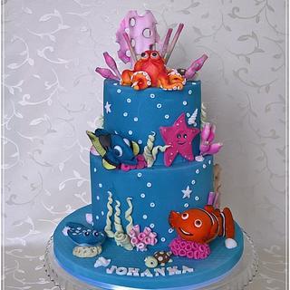 Nemo & Dory - Cake by Tortolandia