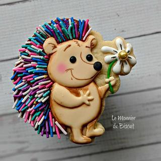 Little Hedgehog - Cake by Le Monnier du Biscuit