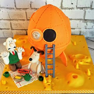 Ooh I do like a little bit of cheese Gromit - Cake by Hilz