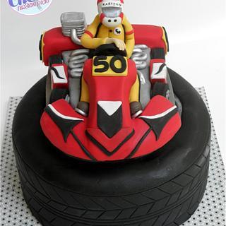 Karting Cake