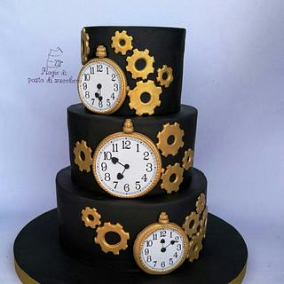 Watch pocket cake