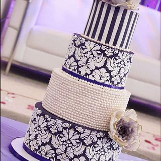 Purple Paradise - Cake by LadyTangerine