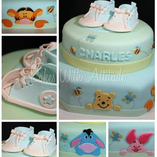 """Pooh """"Soft and Fuzzy"""" Cake"""