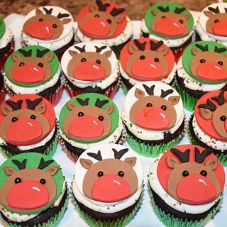 Rudolf Cupcakes!