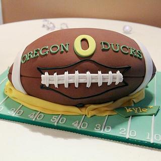 3D Football Cake