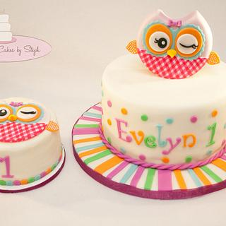 Miss Hoot! - Cake by Centerpiece Cakes By Steph