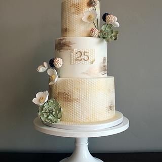 Psalm 19 Anniversary Cake