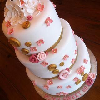 Sweet 60 Cake