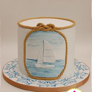 Sailing on Sport Cakes for Peace Collaboration