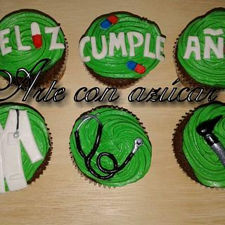 Medic cupcakes , Medicine cupcakes - Cake by gabyarteconazucar