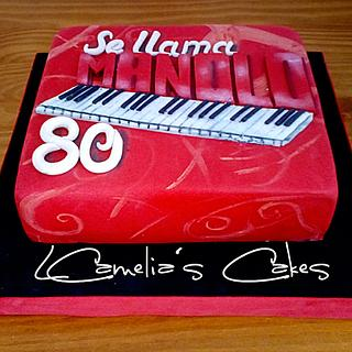 BIRTHDAY CAKE FOR MANOLO  - Cake by Camelia