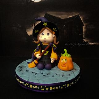 Little Witch Cake Topper