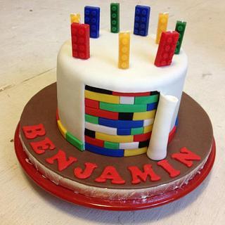 Lego cake - Cake by Reni Hendra
