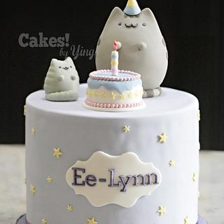 Pusheen's birthday!