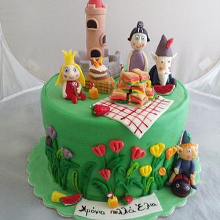 Ben and Holly - Cake by Maria