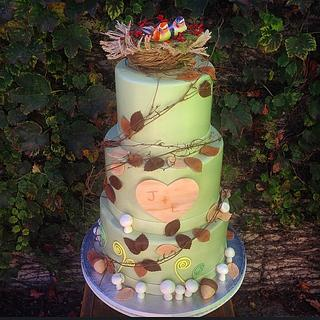 Love Birds - Cake by Sweet Traders